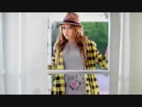 Miley Cyrus Walmart Commercial New Clothing Line Youtube
