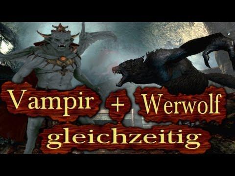 Skyrim - Werwolf und Vampir gleichzeitig sein! (Dawnguard Tutorial)