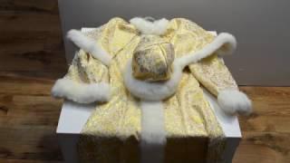 Снегурочка. Карнавальные костюмы к утреннику платья нарядные праздничные Киев. Обзор 98