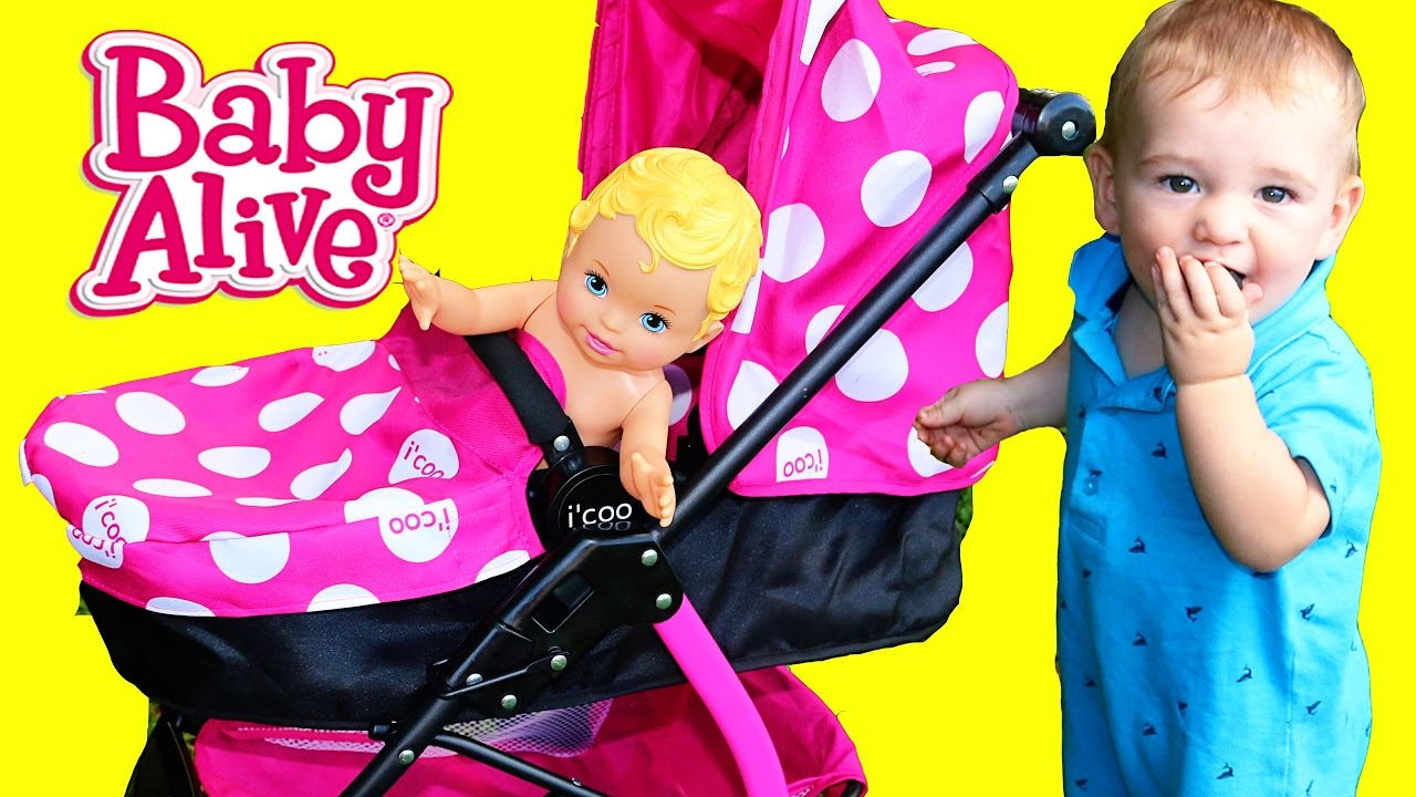 Baby Stroller Toy Review Baby Eli Walking Baby Alive