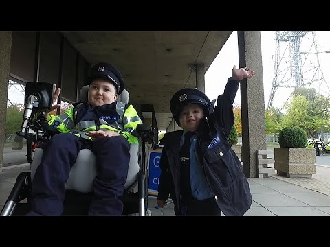 Ireland's youngest gardaí patrol the streets! | The Ray D'Arcy Show | Saturdays | RTÉ One