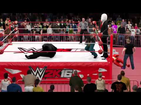 WWE 2K16 What if Grim's partners was Chandler & Jordan