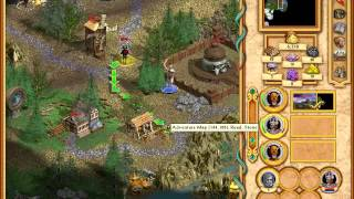 видео Heroes of Might and Magic 4