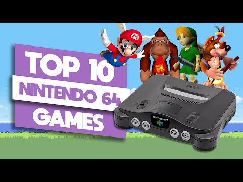 Top 10 Best N64 Games Of All Time