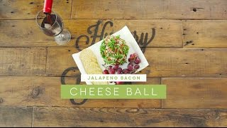 Game Day Jalapeño Bacon Cheeseball Recipe