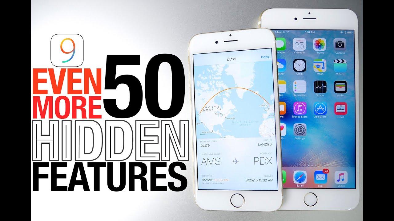 iOS 9 Hidden Features Part 3 - More Top 50 Secret & Hidden Features