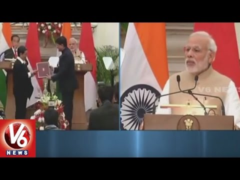 India and Indonesia To Prioritise Defence Ties, Says PM Narendra Modi | V6 News