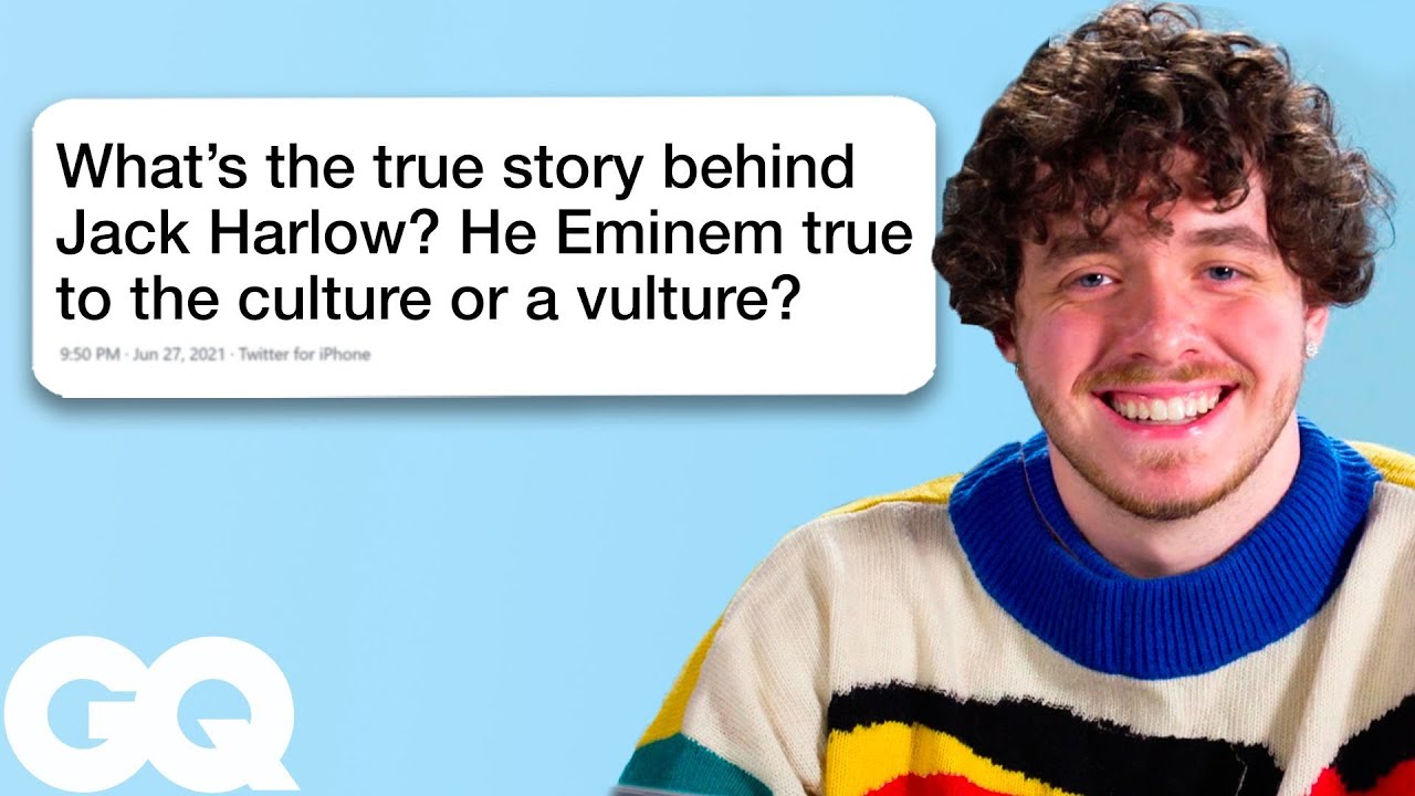 Jack Harlow Goes Undercover on Twitter, Instagram and Wikipedia