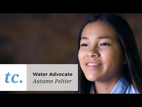 13-Year-Old Advocate Autumn Peltier is Devoted to Protecting the World's Water