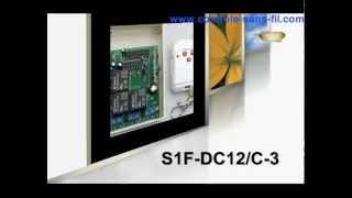 Kit émetteur récepteur pour moteur 12v S1F-DC12 & C-3