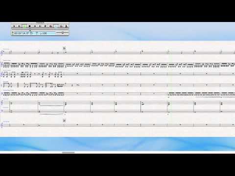 Sibelius 6 Prog-rock song
