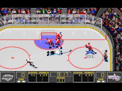 Washington Capitals @ Los Angeles Kings February 12, 1994