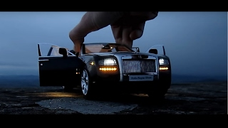 This Rolls Royce Ghost costs $1000 - Diecast Car 1/18 Car LED Lights Kyosho kereta mewah