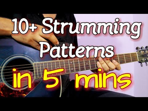 Learn To Play 11 Popular Strumming Patterns In 5 Mins
