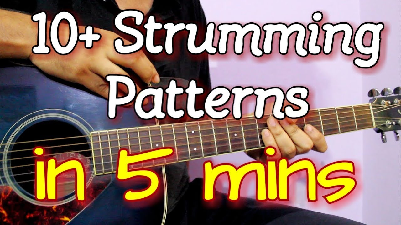 how to play different strumming patterns