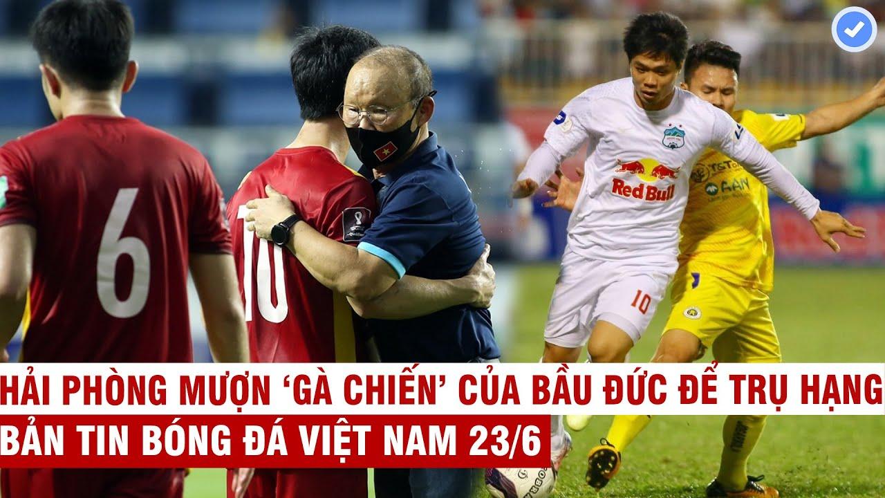 VN Sports 23/6 | HLV Park viết tâm thư cảm động gửi ĐTVN, V-League thi đấu tập trung