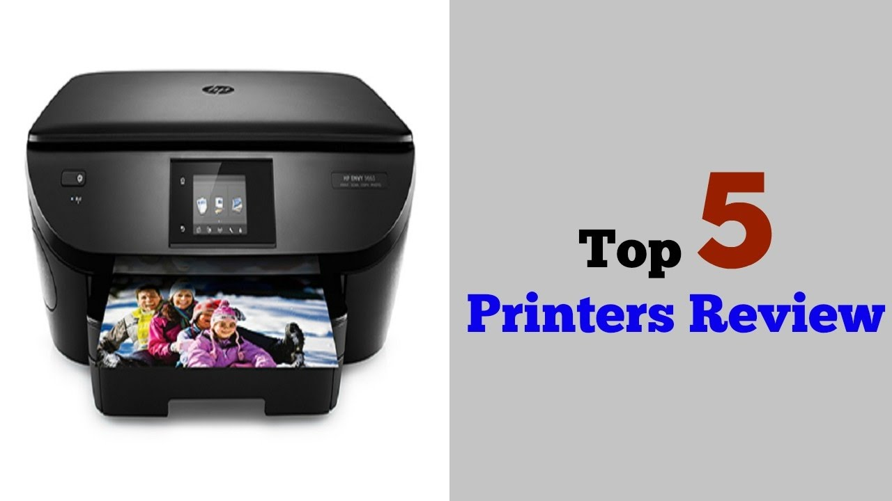 Top 5 All In One Printers 2017 Best Printers Under 100 Top Rated