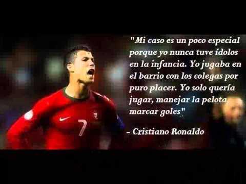 CRISTIANO RONALDO - FRASES