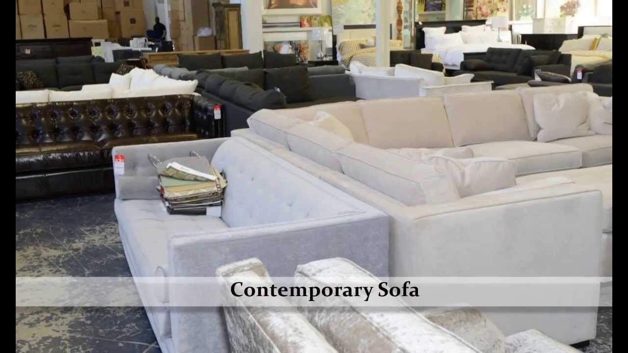 GH Johnson sofa: couch - YouTube