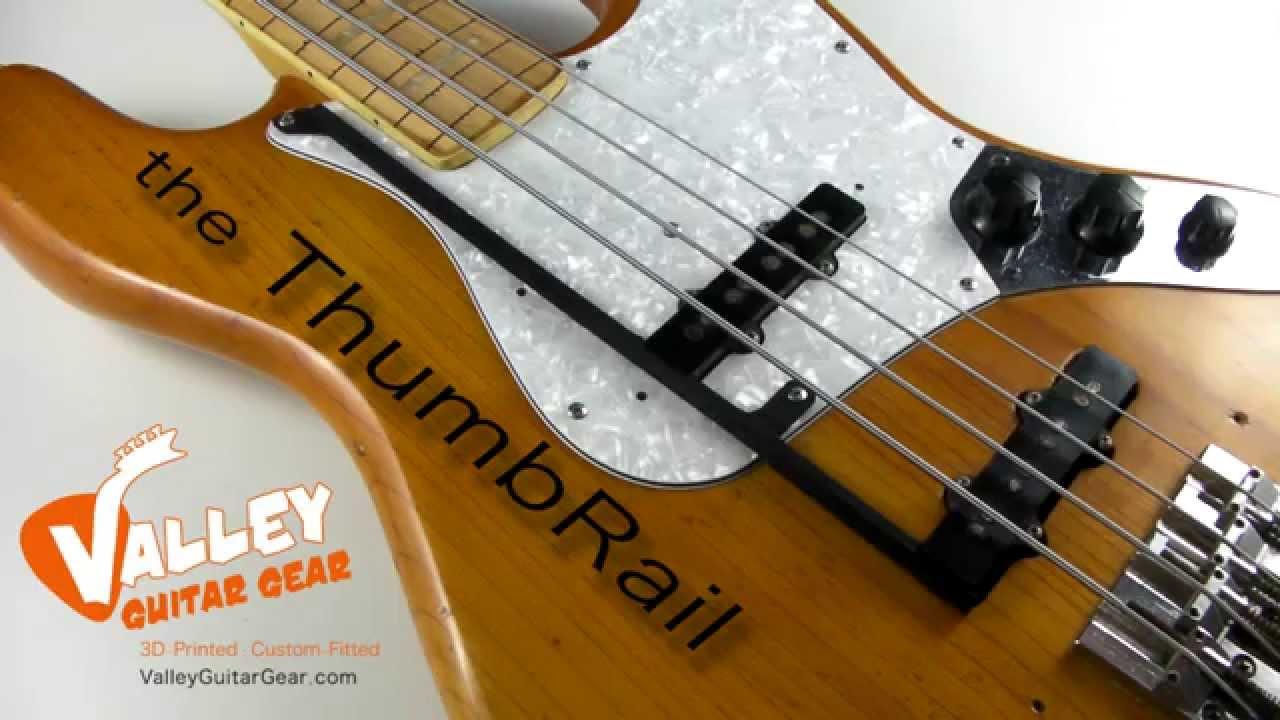 Agree bass guitar thumb rest assured