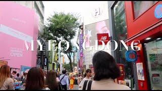 Seoul Trip 2018: MYEONGDONG Street Food, Line Friends, Artbox, Daiso, Underground Shopping