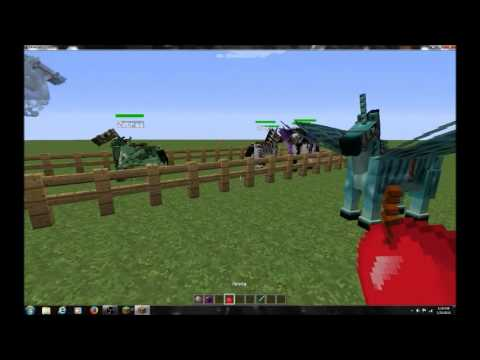 How To Get Fairy Horses Zebras And More Minecraft Command Youtube
