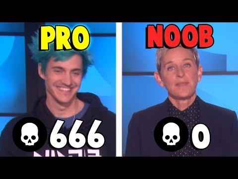 Ninja and Ellen's Fortnite disaster...