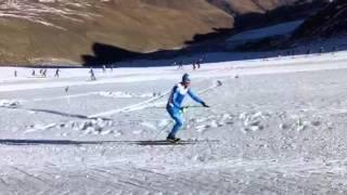 Fondo, ultimo giorno di allenamento per le squadre di Cdm in Val Senales