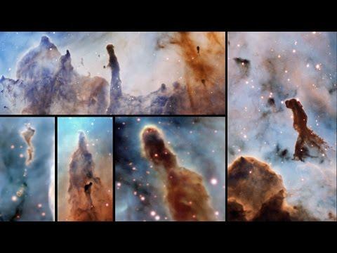 Pillars of Destruction in the Carina Nebula