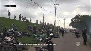 Aksi Tim Penikam Bubarkan Balap Liar, Ratusan Motor Berhamburan - 86