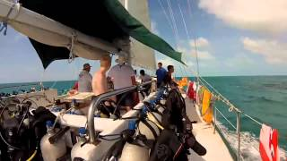 Troop 109 Scouts on Caribbean Scuba Adventure