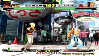 Capcom vs Snk Millenium Fight 2000 Pro Gameplay on PS3