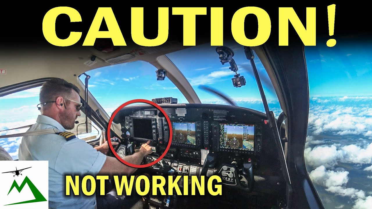 AVIONICS FAILURE IN FLIGHT!  | Bush Pilot Flight Vlog
