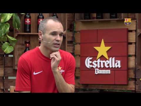 """Andrés Iniesta: """"El Manchester City se identifica con la forma de hacer de Guardiola"""""""