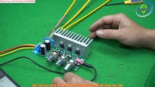 Mạch công suất 2.1 dùng IC TDA2030 Zalo 0355 774 789