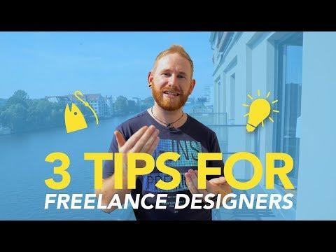 3 Tips for Freelance Designers