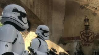 B Roll 2019 Star Wars Galaxy's Edge Hollywood Studios