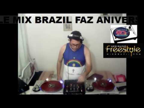 DJ CEZAR LOPESS - WEB RADIO FREESTYLE MIX BRAZIL  PROGRAMAÇÃO FREESTYLE 90