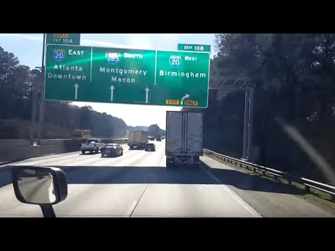 BigRigTravels LIVE! Gainesville, Georgia to Lake, Mississippi I-985,85,285 & 20-Feb. 8, 2018
