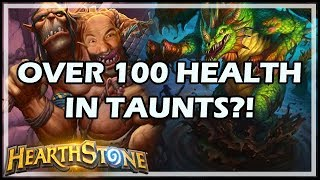 OVER 100 HEALTH IN TAUNTS?! - Boomsday / Hearthstone