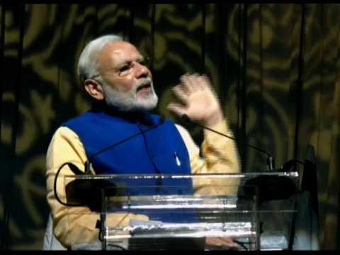 PM Modi addresses Indian diaspora at Tel Aviv Convention Center