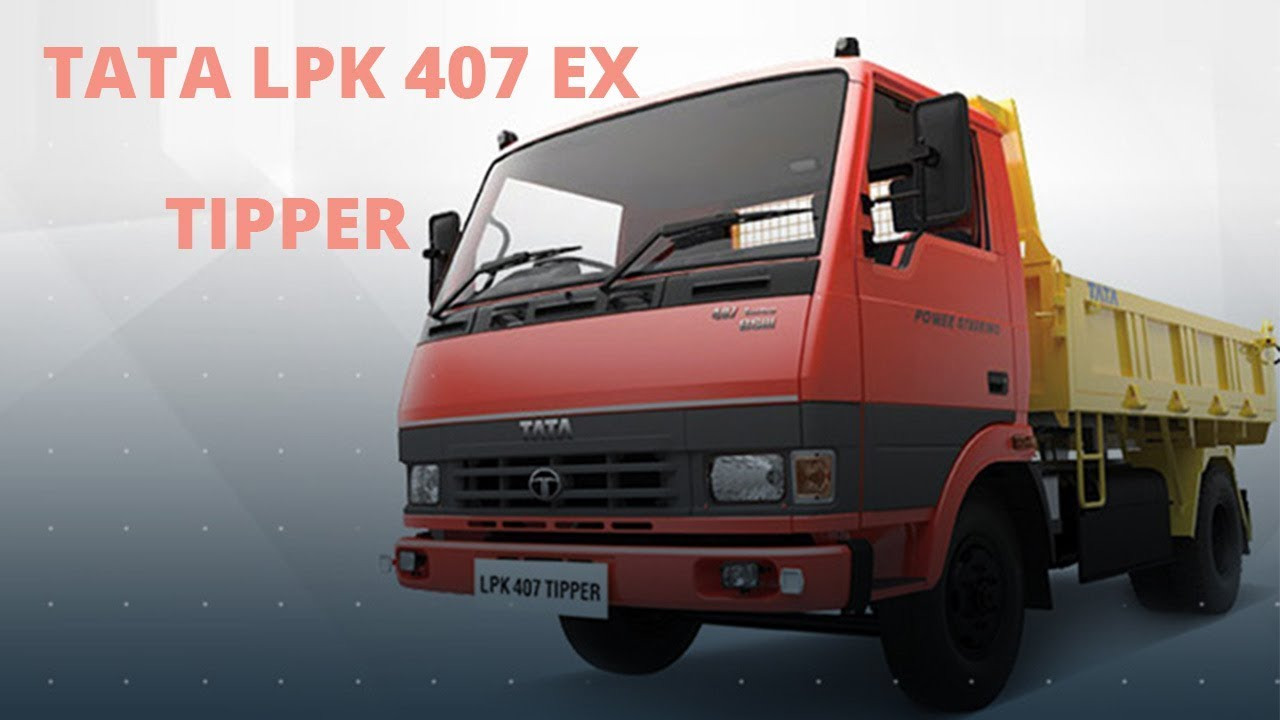 TATA LPK 407 EX Tipper