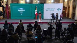 Conferencia de prensa matutina, desde Palacio Nacional. Lunes 25 de enero 2021 | Presidente AMLO