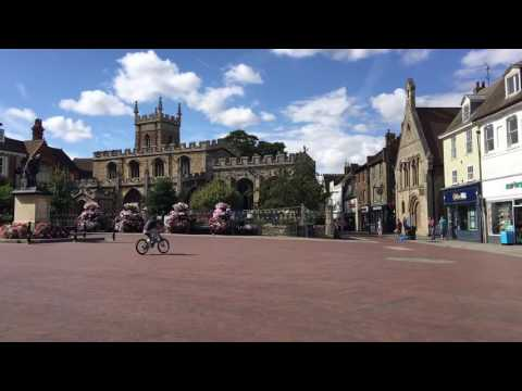 Huntingdon town centre - Cambridgeshire