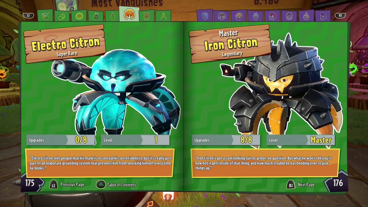 Citron from plants vs zombies garden warfare 2 plants vs zombies - Plants Vs Zombies Garden Warfare 2 Legendary Iron Citron Master Class