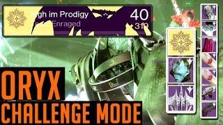 Destiny Oryx Challenge Mode 320 Loot | How we Complete Oryx Challenge Mode