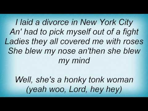 Albert King - Honky Tonk Woman Lyrics
