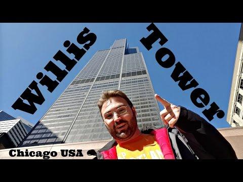 O PREDIO MAIS ALTO DO MUNDO - WILLIS TOWER - CHICAGO