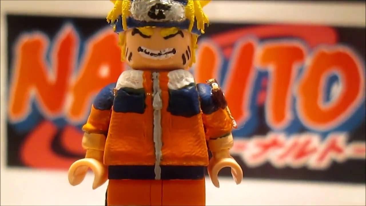 lego Naruto custom minifigure - YouTube