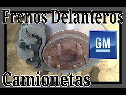 Frenos Delanteros Camionetas Chevrolet, GMC
